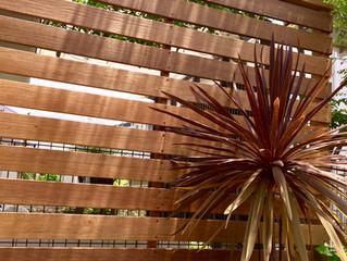 茨木市彩都あさぎでウッドフェンス工事