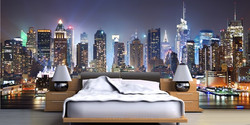 Wall Mural - Bed room