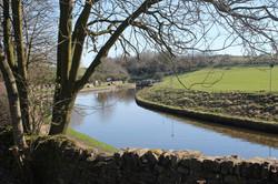 Wonderful canal scenery