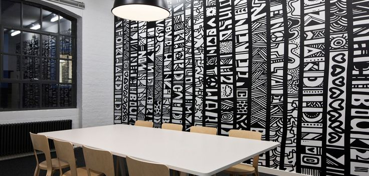 Wall Mural - Office A