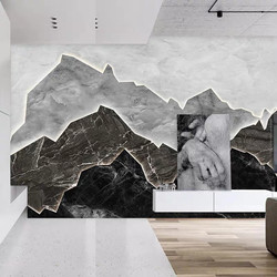 wall mural bw