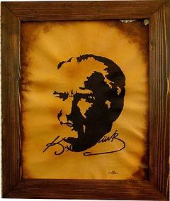 Atatürk deri üzerine