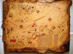 pirireismap, piri reis haritası