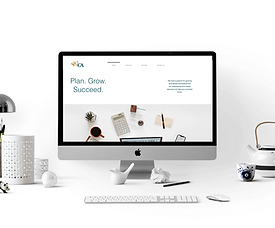 NEW GROWTH ACCOUNTING WEBSITE BY CREATIVE CONTRAST