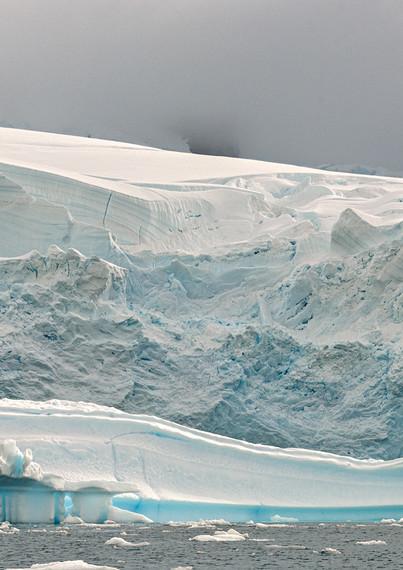 Glacier front, Paradise Bay