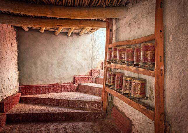 Prayer wheels, Liker monastery