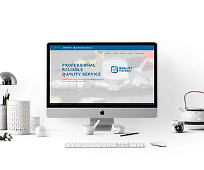 QUALITY PLUMBING WEBSITE BY CREATIVE CONTRAST