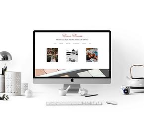 SHANI STRAUSS MUA WEBSITE BY CREATIVE CONTRAST