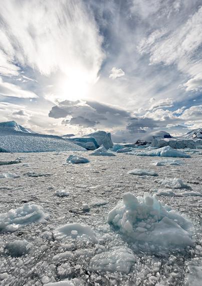Drifting ice, Collins Bay