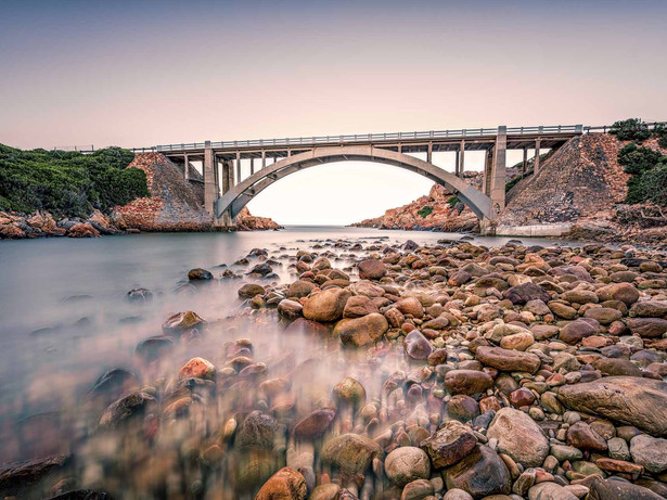 Steebbras Bridge, near Gordan's Bay, Cape Town