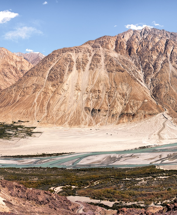 Nubra Valley panorama