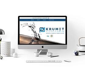 KRUMIT PLUMBING WEBSITE BY CREATIVE CONTRAST