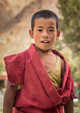 Novice monk, Liker monastery