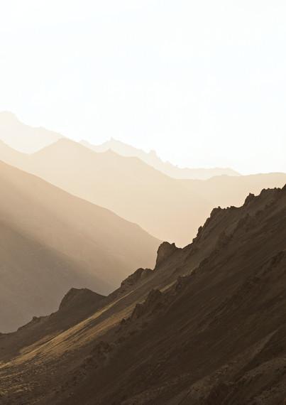 Sunset over the Himalayas