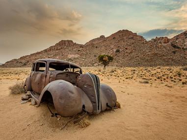Hudson Terraplane, Aus, Nambia
