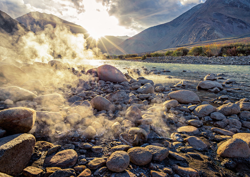 Chumatang hot springs