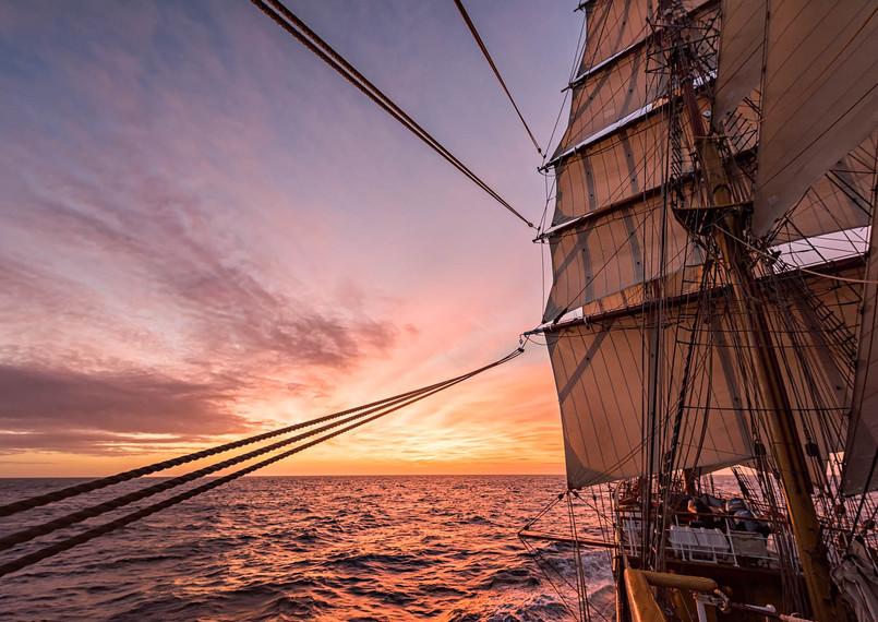 Sunrise, Drake Passage