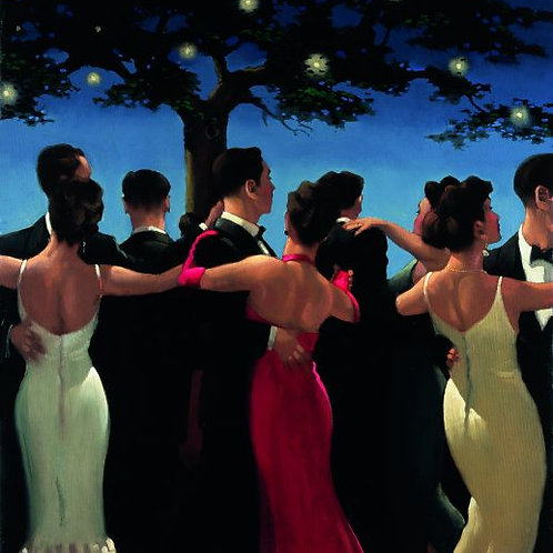 Jack Vettriano-Waltzers Signed Limited Edition.