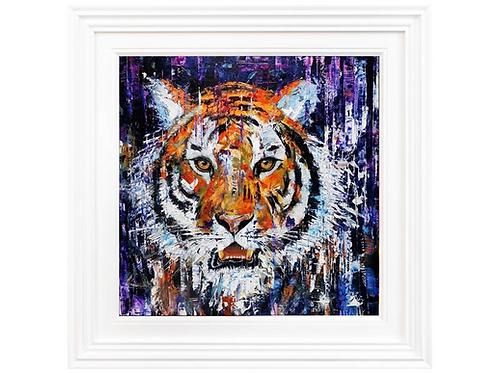 Ben Goymour - Eye of the tiger Original painting.