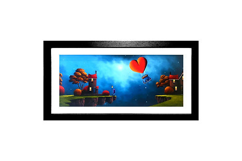 "David Renshaw A Northern Romance ""Love lifts us up""-Original 2014"