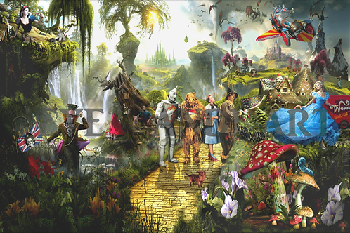 DIRTY HANS - Fairytale fantasy Limited Edition Fine Art on paper