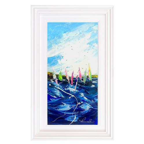 """Rozanne Bell -""""Nautica 3"""" Original"""