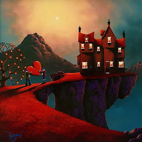 """David Renshaw A Northern Romance """"Home is where our heart is""""-Original 2014"""