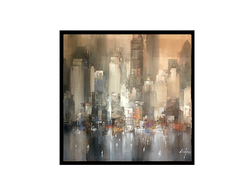 Wilfred Lang Sound of the city 2 -Original
