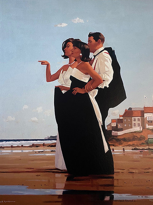 Jack Vettriano- Missing Man ii Signed Limited Edition.