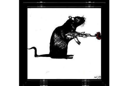 """Blek Le Rat -""""Warrior""""  Original"""