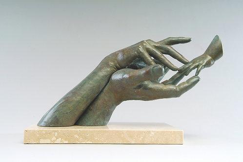 Lorenzo Quinn Sculpture-Continium