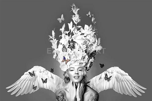 DIRTY HANS - Marilyn Flight of Fantasy Limited Edition Fine Art