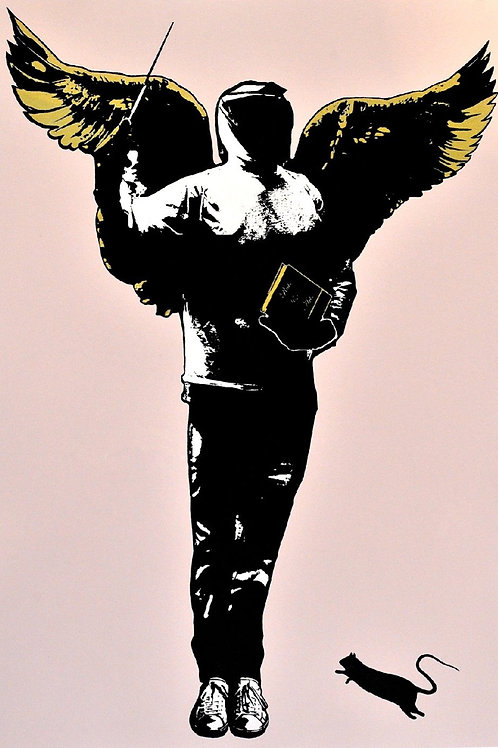 BLEK LE RAT - The Patron of the Arts Limited Edition Fine Art