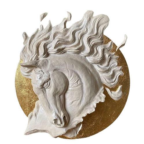 Hamish Herd Sculpture-Pegusus