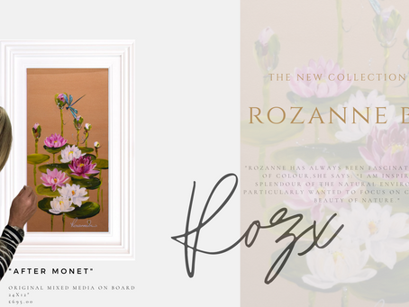 Rozanne Bell new Spring releases land at Art Lounge International.