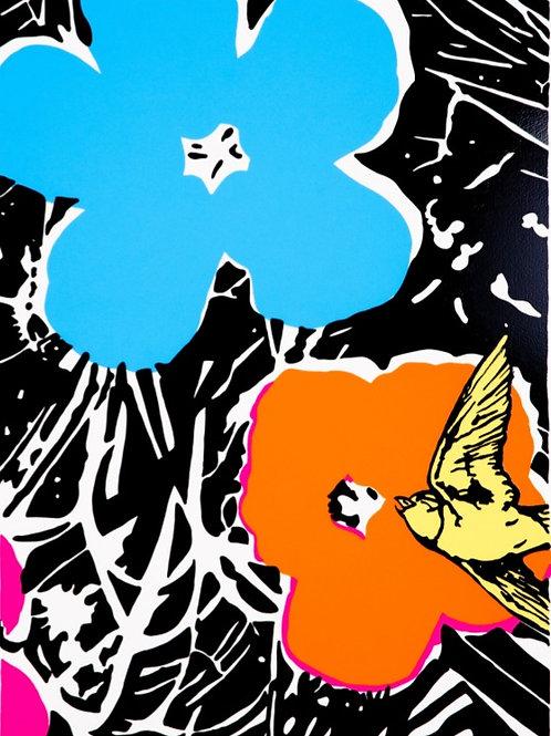 DAN BALDWIN - Delirium (Blue)  - Limited Edition Fine Art