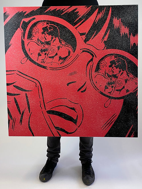 "Rich Simmons- ""Reflections Lollypop Diamond dust""Original"