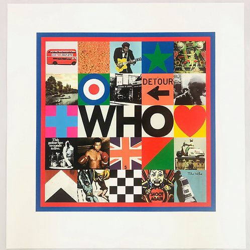 PETER BLAKE - Who - Limited Edition Fine Art