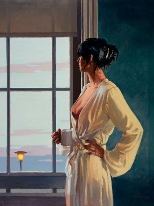 Jack Vettriano-Bye Bye Baby Signed Limited Edition.