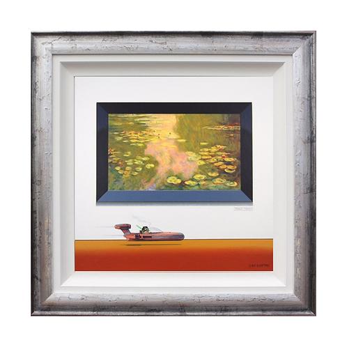 "Chris Chapman ""Fraud Monet""- Original painting."
