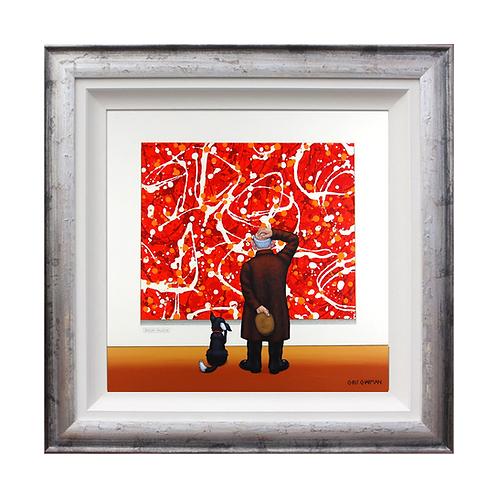 "Chris Chapman ""Jackson Pillock""- Original painting."