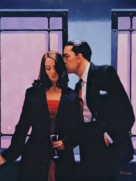 Jack Vettriano-Contemplation of Betrayal Signed Limited Edition.