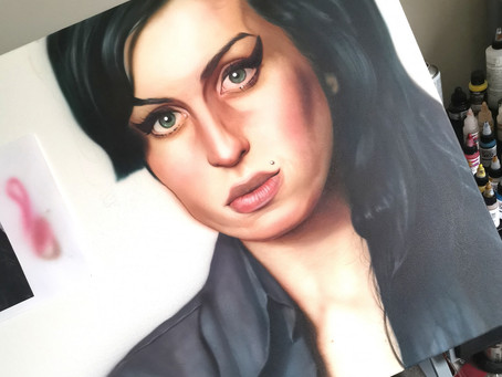 Amy Winehouse -A special project for a star gone too soon..