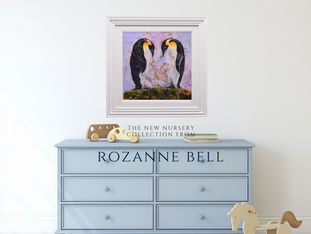 New Nursery Range Launches at Art Lounge with Rozanne Bell!