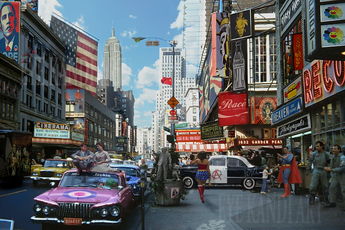 DIRTY HANS - Pop goes New York 2 Limited Edition Fine Art