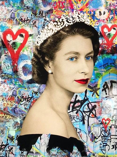 CHLOE ROX - Queen Elizabeth -  SPECIAL EDITION Limited Edition Fine Art