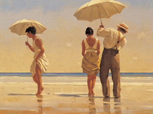 Jack Vettriano-Mad Dogs  Signed Limited Edition.