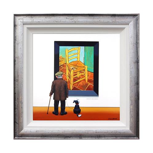 "Chris Chapman ""Vincent Van Earoff-..Pardon?""- Original painting."