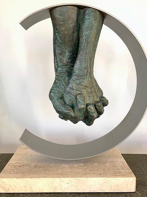 Lorenzo Quinn Sculpture-Eternam