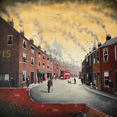 "David Smith- ""Our Town."" - Original"